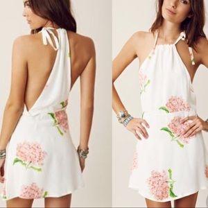 Stone Cold Fox - Modest Dress Bloom Print